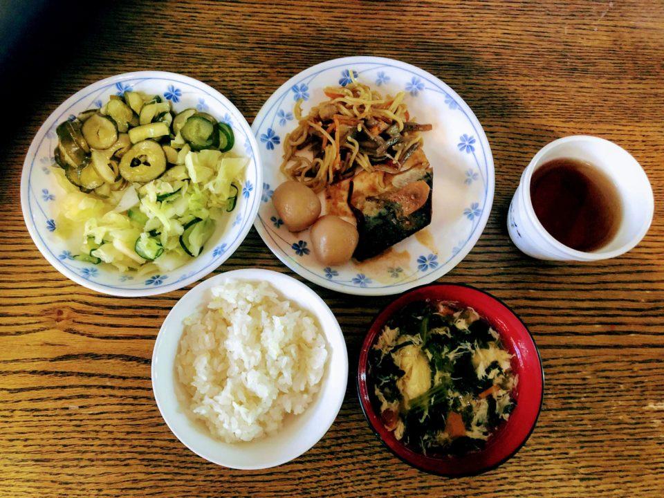 栄養士さんや調理スタッフさん手作り、栄養満点の美味しいお料理。